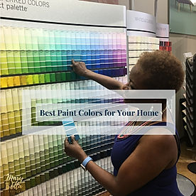 Mary Etta Designs' Best Paint Colors for Your Home