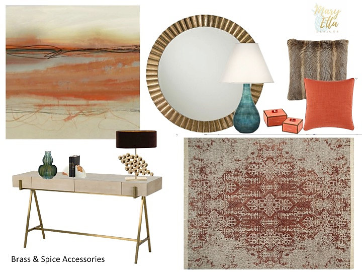 Accessories Package Mary Etta Deigns Art, Rug and Accessories