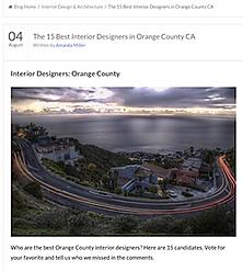 The 15 Best Interior Designers in Orange County CA
