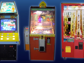New arcade games have arrived!