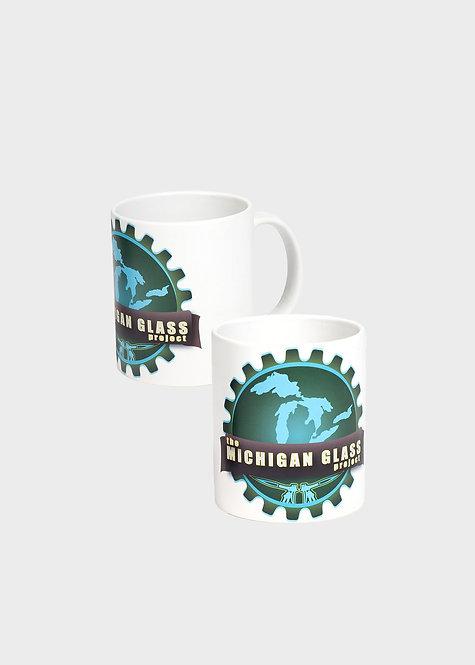 White MGP Coffee Mug