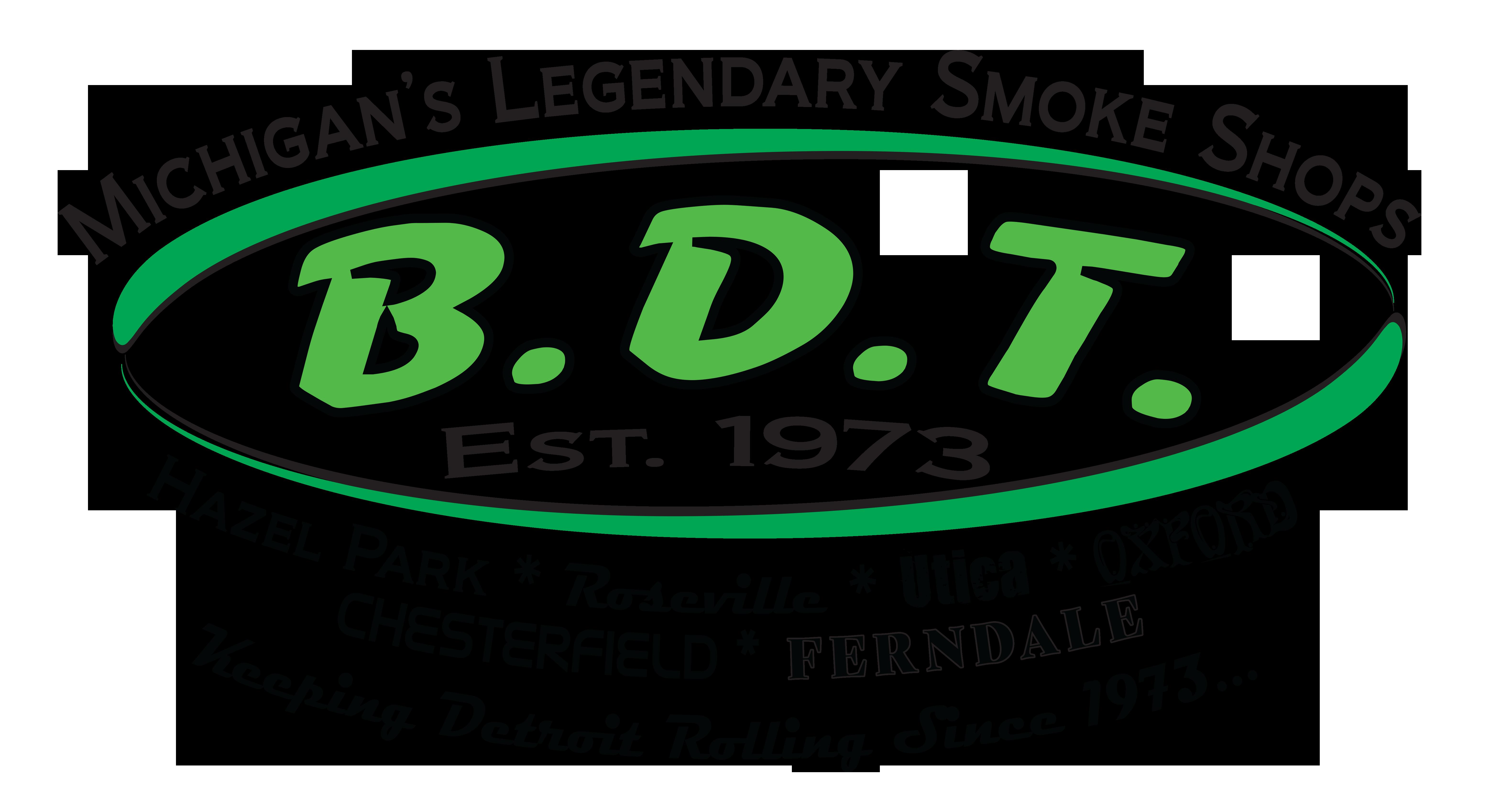 2018 B.D.T. Smoke Shops LOGO