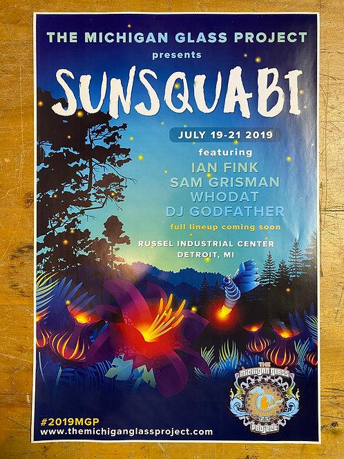 2019 SunSquabi MGP Poster