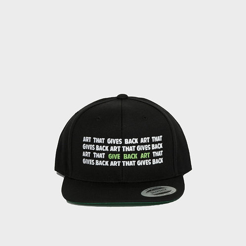 Art that Gives Back Snapback