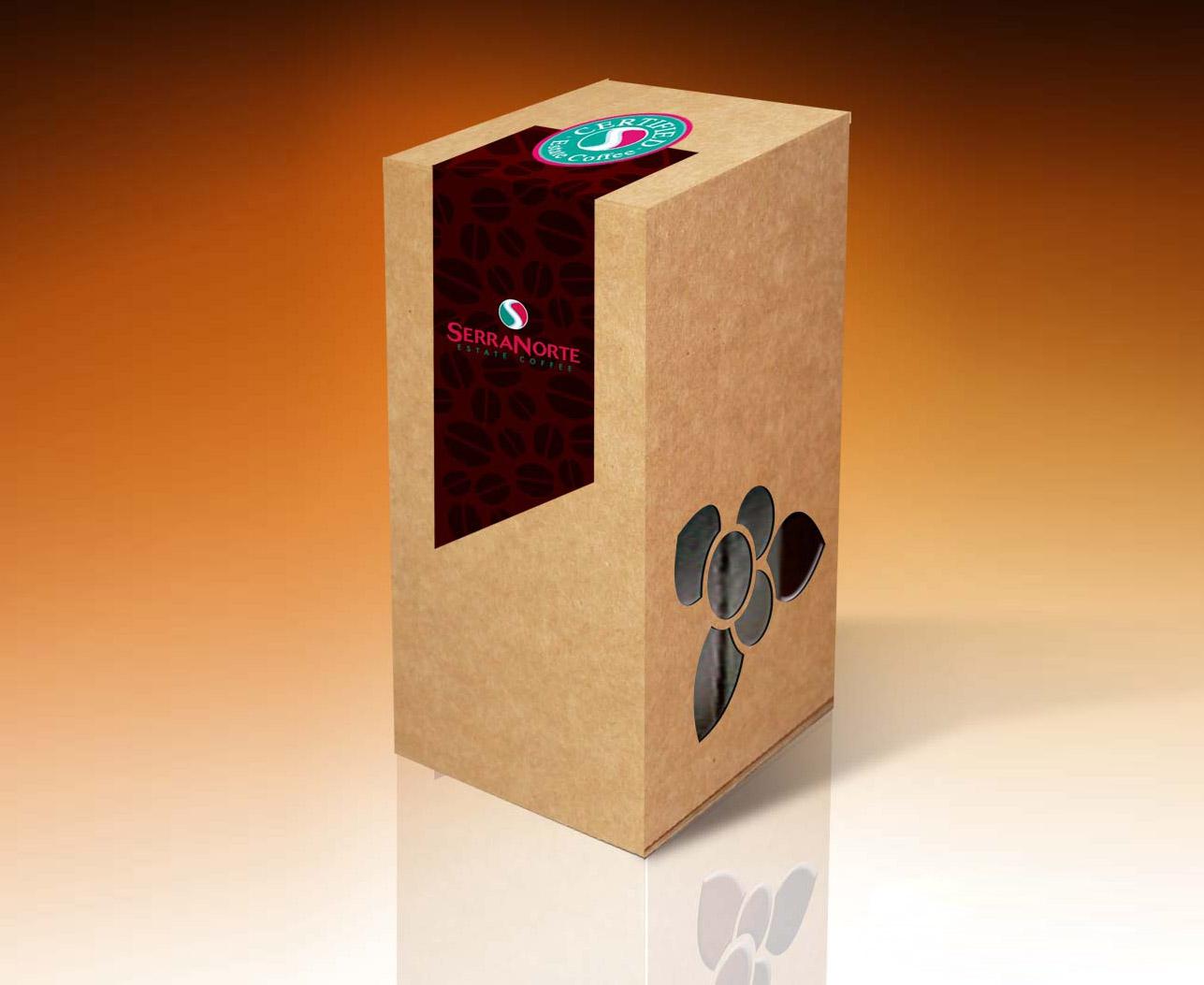 Caixa para café exportação