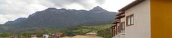 Vista para a Serra do Caraça.