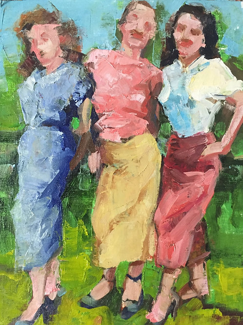 """Three Graces"" - SOLD"