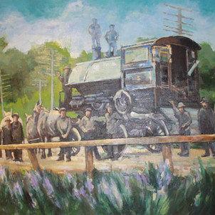 Jitney and Horses, Kensico