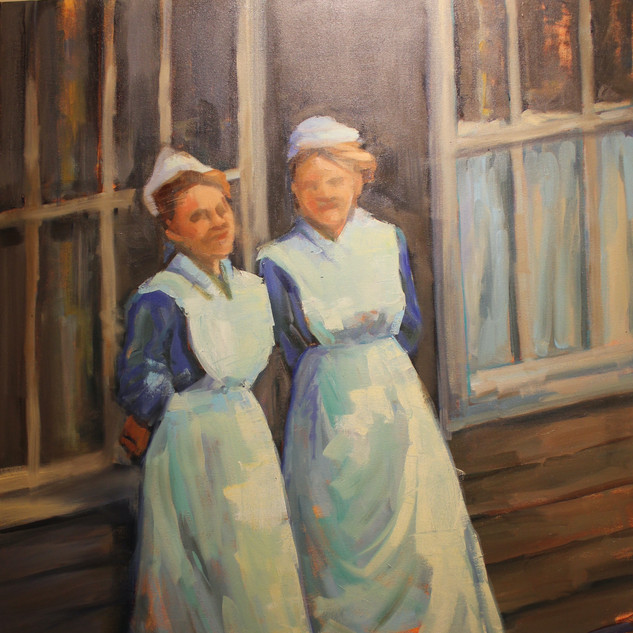Camp Hospital Nurses