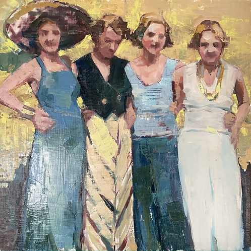 Girl's Club - matted print