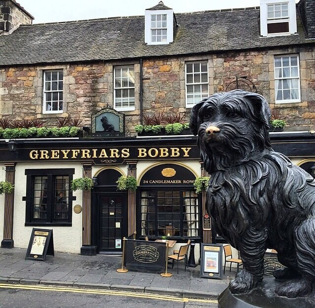 Image of Edinburgh Pub, Greyfriars Bobby
