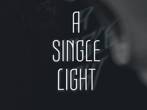 Ready to publish at last! A Single Light