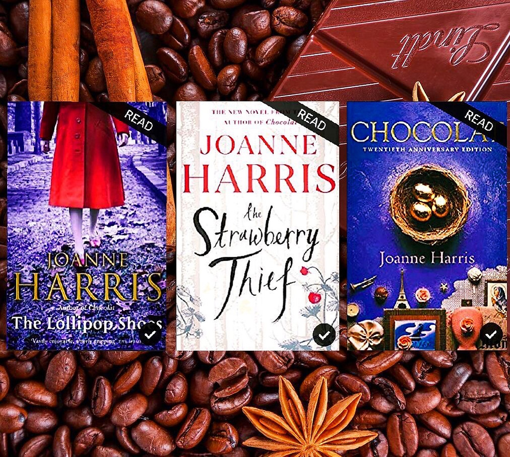 The Chocolat series book covers