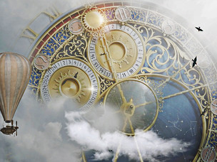 Points in time and the writing journey