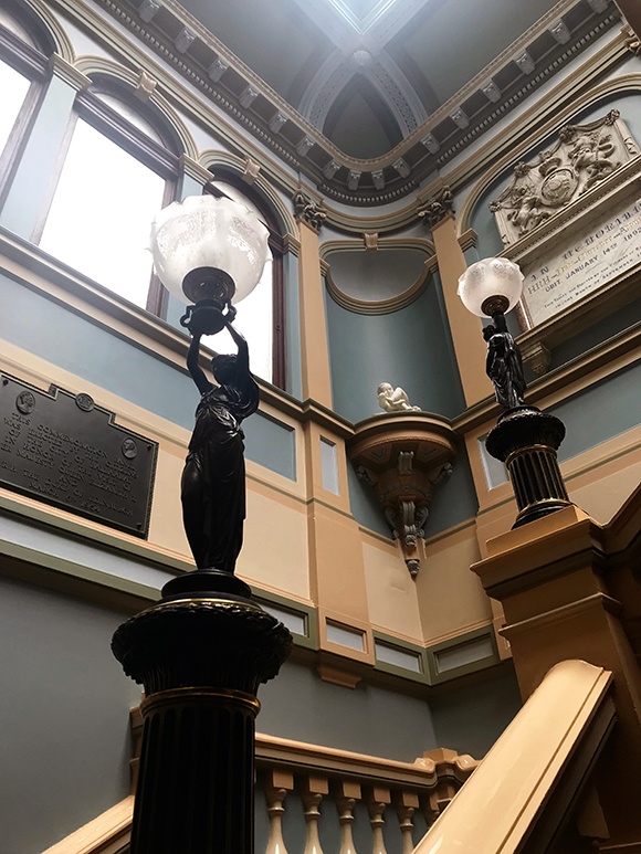 beautiful staircase_Ballarat Town Hall
