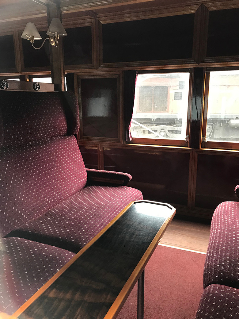 Second Class carriage - NSW Rail Museum, Thirlmere