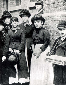 London Matchgirls on strike - 1888