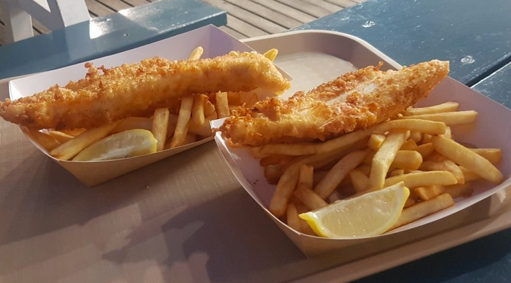 fish and trips from the boatshed - Traveller photo submitted by Tanya S (Apr. 2018)