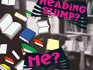 Coming out of a reading slump with a vengeance!