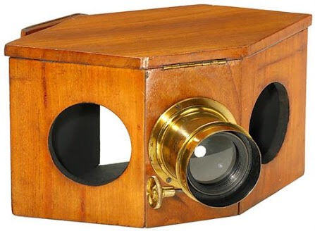 "Early CdV- Projector ""Aphengescope"","