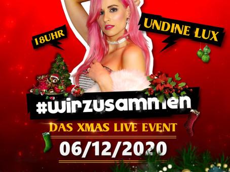06.12.2020  18:00 Uhr / #wirzusammen - Das Xmas Live Event