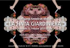"Plakat von ""La Finta Giardiniera"""