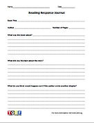 First Grade Reading Worksheet