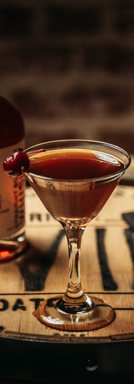 Cocktail Name: Black Cherry Manhattan
