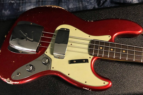 NEW Fender '60 Jazz Bass Relic Stack Knob Chrome Hardware - Authorized Dealer -