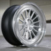MS15 CLASSIC 20x9.0 BRUSHED CLEAR POWDER