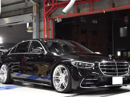ボンド大阪様作成 W223 Mercedes Benz S500L+ RC5 Mono 22inch