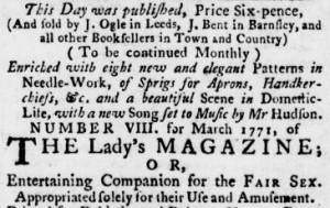 Leeds Intelligencer (2 April 1771): 1. Image © Gale / British Library.