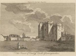 Cardiff Castle; LM VII (1776): 428. Image © Adam Matthew Digital / Birmingham Central Library. Not to be reproduced without permission.
