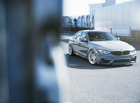 河野マルオ氏撮影 Pole Position様作成 BMW M3 CS+RC5 Mono 20inch