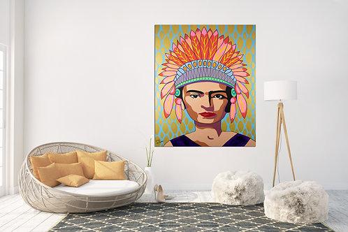 אישה אינדיאנית