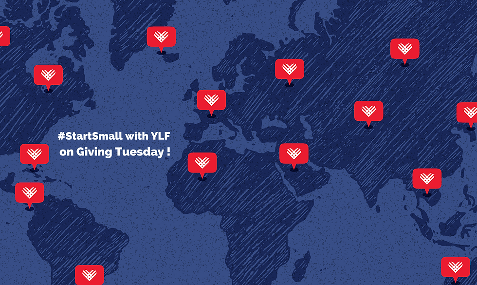#StartSmall With YLF on Giving Tuesday (