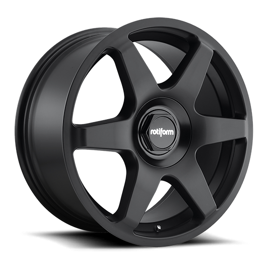 Rotiform SIX-Matt Black