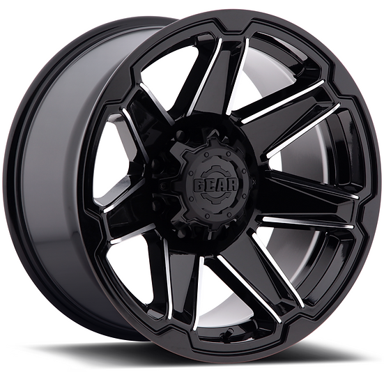 Trident-Gloss Black Machined