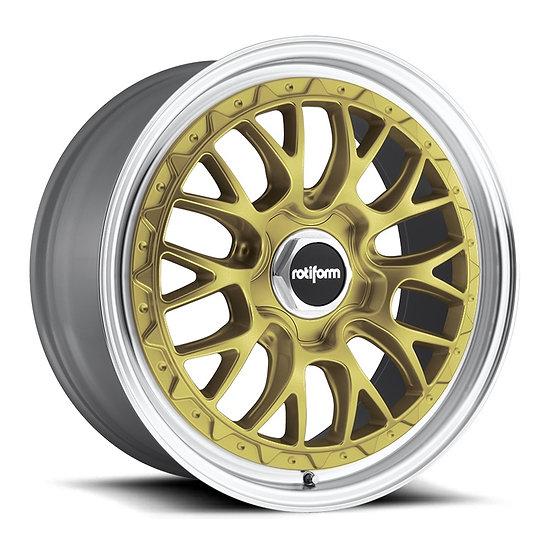 Rotiform LSR-Matt Gold Machined Lip