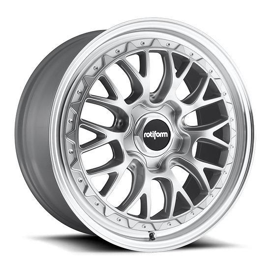 Rotiform LSR-Silver Machined Lip
