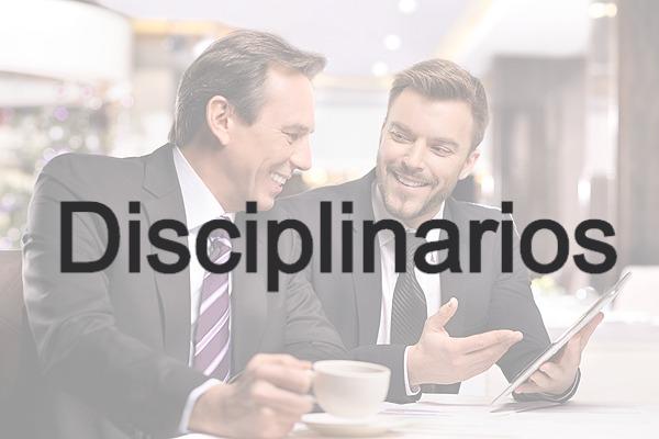 Disciplinarios