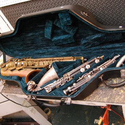Double Tenor/Low Eb Bass Clarinet Case