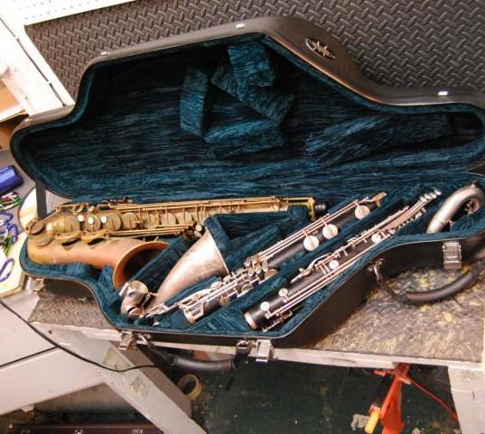 Double Tenor/Low Eb Bass Clarinet Case