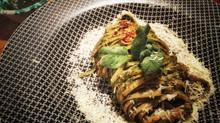 Pasta with Mint Pesto