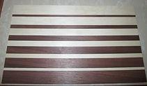 Cutting board  walnut/maple