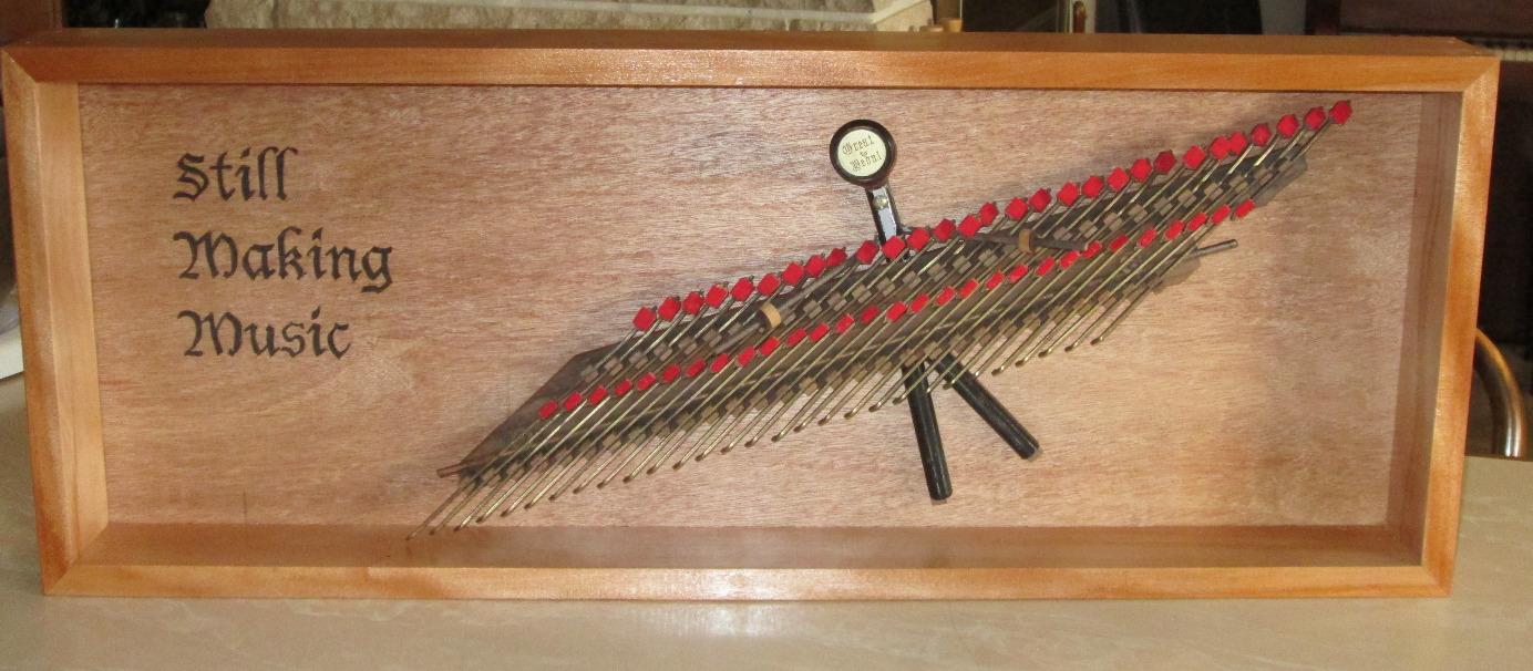 Reed organ parts