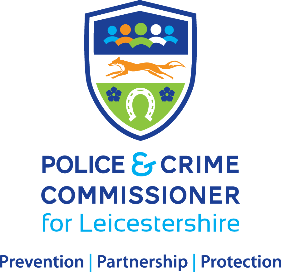 Police & Crime Commissioner for Leicestershire Logo