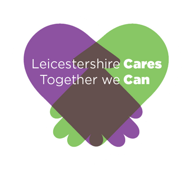 Leicestershire Cares Logo - together we can