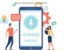 Voice-assistance navigation