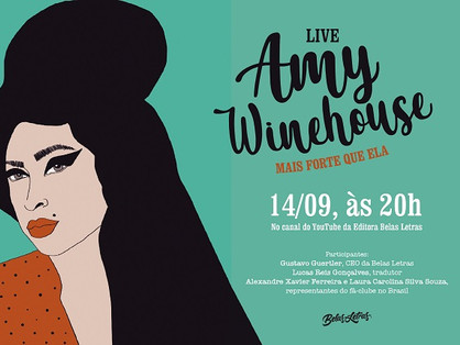 Live para comemorar os 37 anos de Amy Winehouse